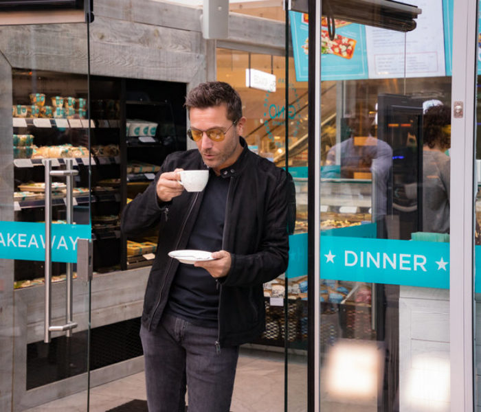 Gino D'Acampo launches My Coffee & Deli Bar