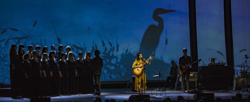 Katie Melua performs Winter Tour 2018 with Gori Women's Choir in Manchester 2018