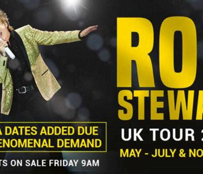 Rod Stewart adds dates to UK tour