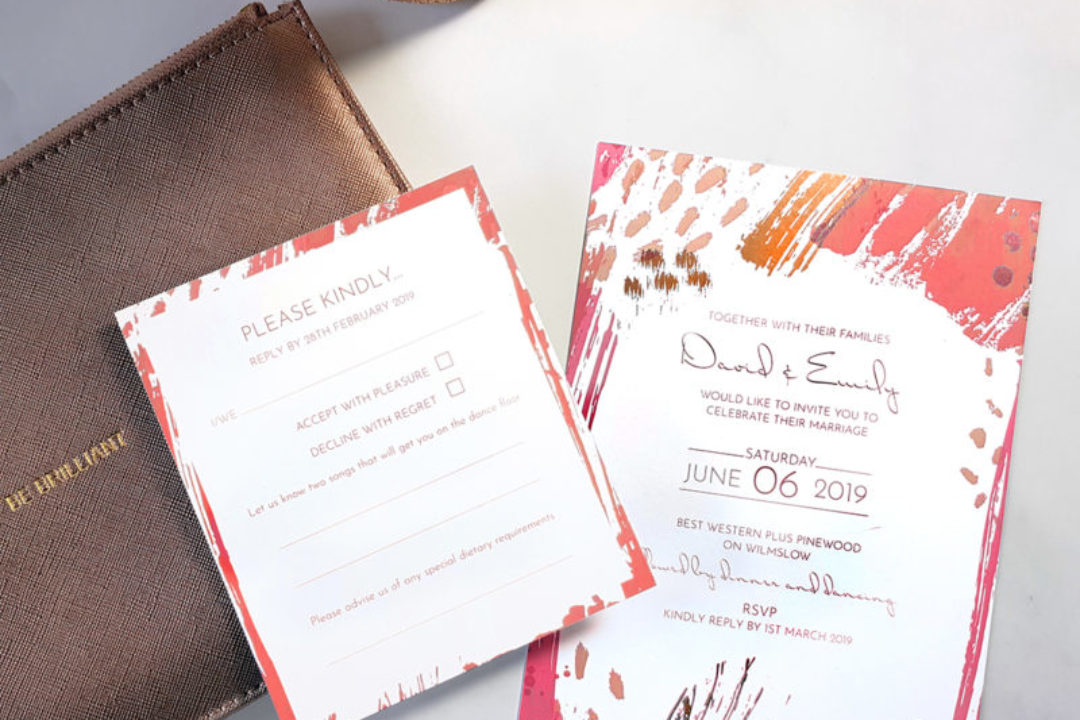 Wedding stationery trends for 2019