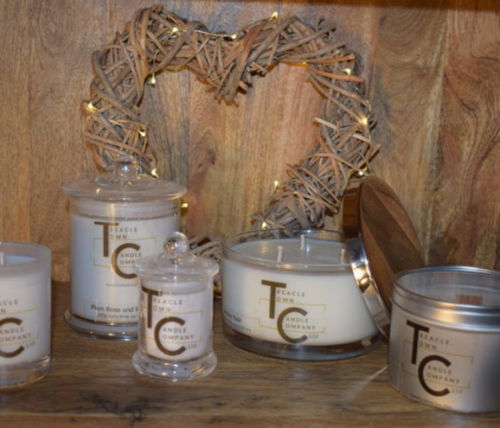 CHESHIRE: Treacle Town Candle Company launches vegan range of handcrafted soy candles