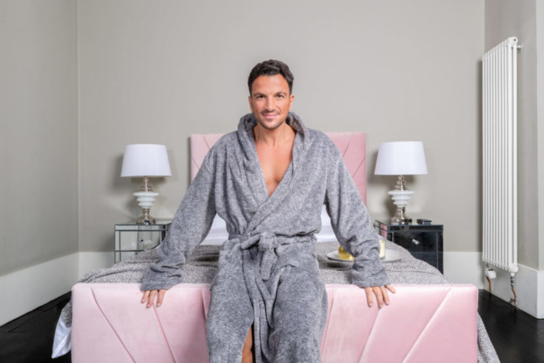 Peter Andre unveils his new range of beds A. by Andre at Arighi Bianchi