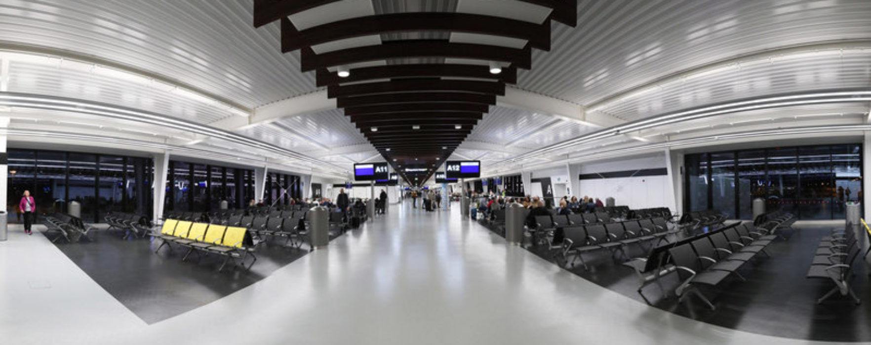 First phase of Manchester Airport's £1 billion transformation opens to passengers as flights depart from new pier