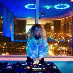 E.M.A DJing at Bar 93