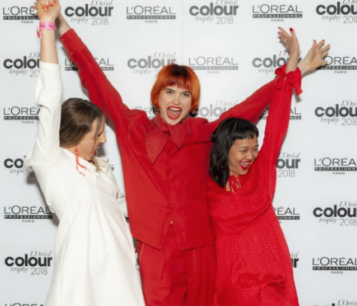 Trevor Sorbie win L'Oréal Professionnel style & colour awards