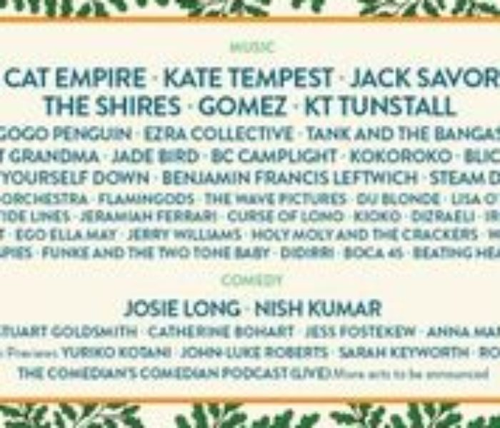 Larmer Tree Festival announces final music line-up, brand new workshops and more