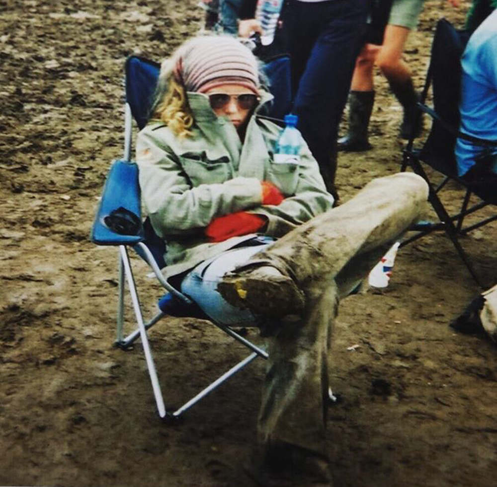 Glasto when I was 17 years old