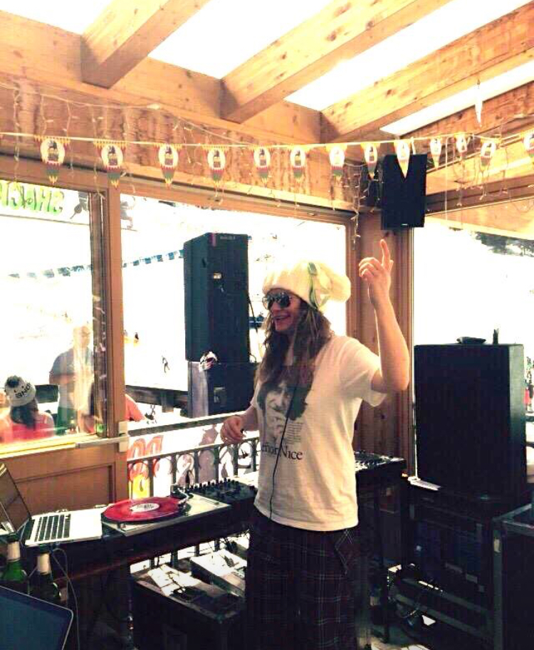 Snowbombing, DJing in Rompas Reggae Shack