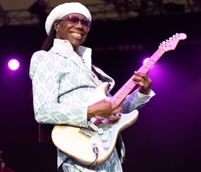 Nile Rodgers and Chic bring 'Good Times' to Eden