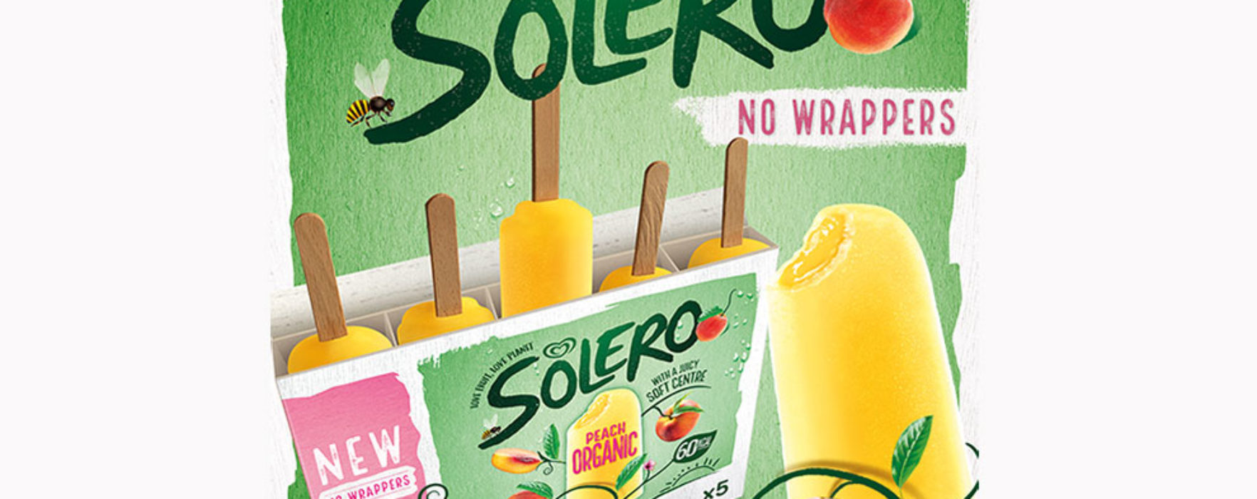 Solero introduces wrapper-less ice creams!