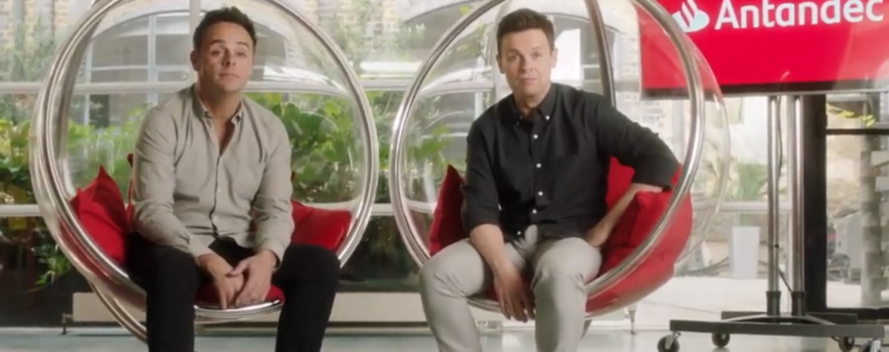 WATCH: TV duo Ant and Dec have opened their own bank