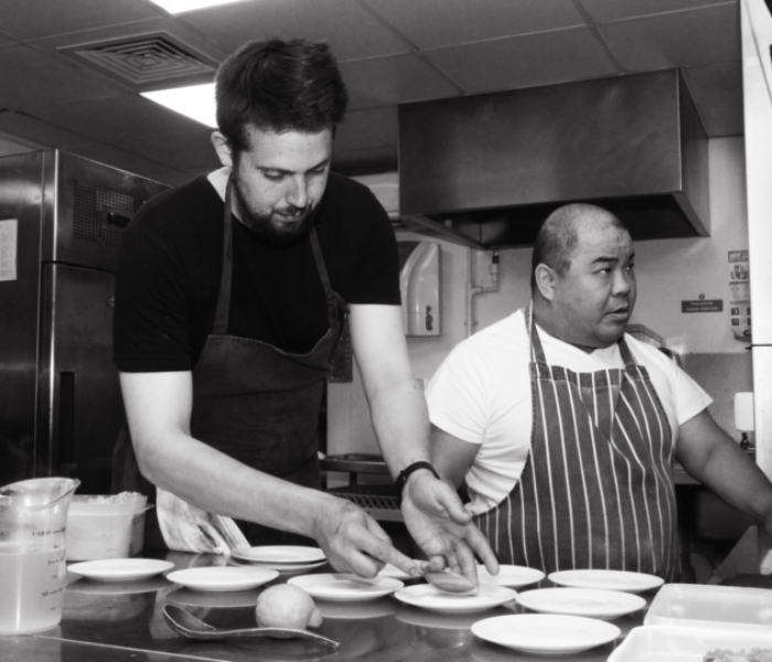 The Michelin Star returns to CHESHIRE with exclusive Yu collaboration with Tom Parker
