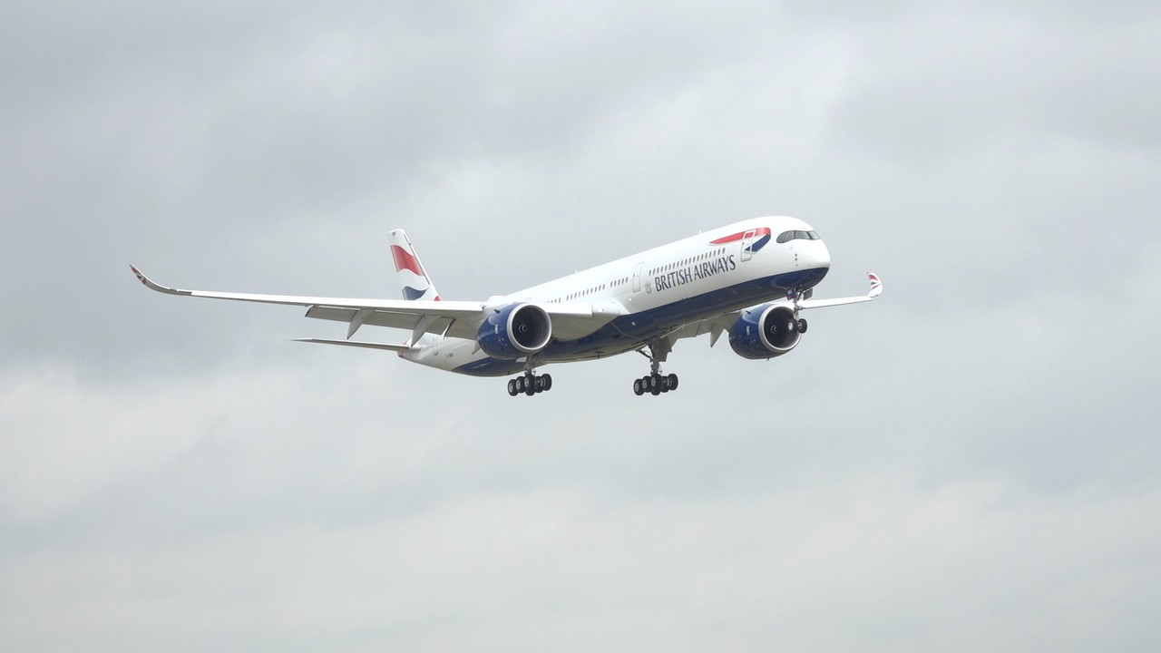 British Airways unveils its first brand new A350
