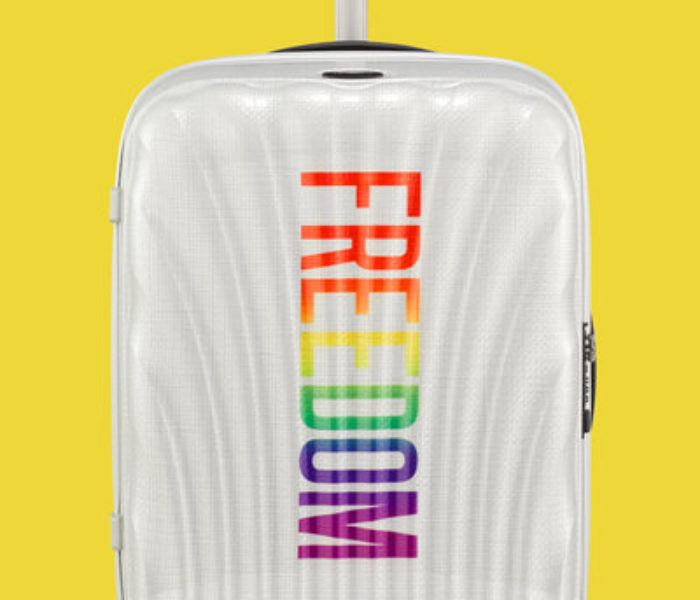 Samsonite celebrates Pride month with limited edition 'Freedom' Cosmolite suitcase