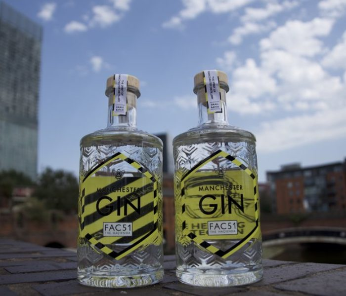 Master distillers and Peter Hook collaborate to create a Manchester Gin with Haçienda spirit