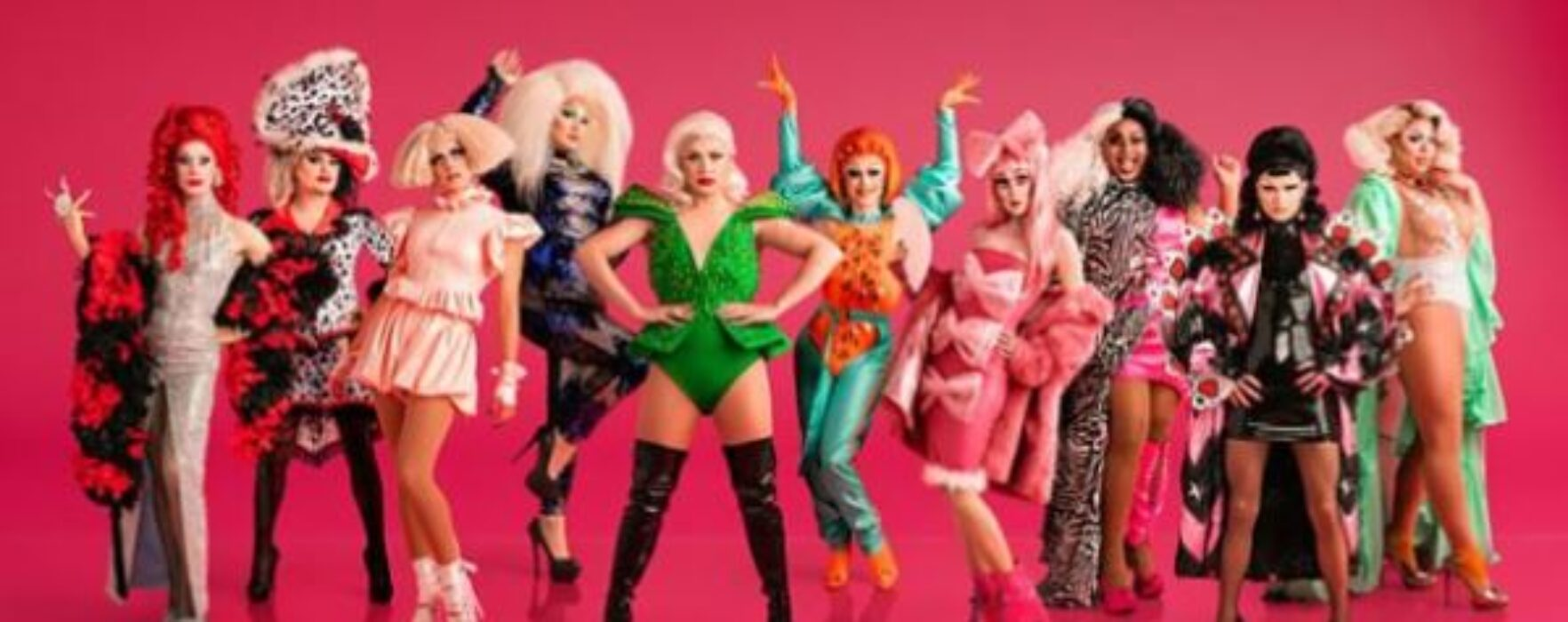 The line-up for RuPaul's Drag Race UK is revealed with their first official appearance at Manchester Pride