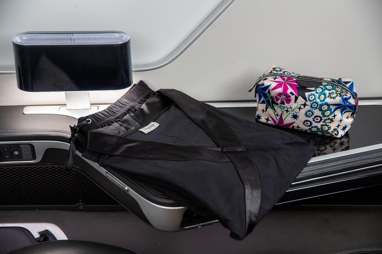 Why turning left is 'brilliantly British' as BA enhances its first class cabin service