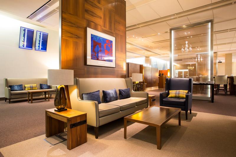 British Airways First Class Departure Lounge