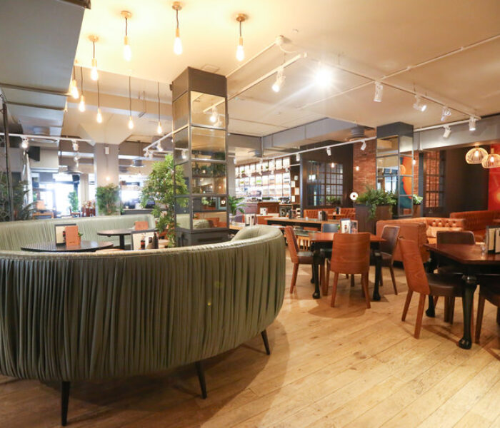 All Bar One's new menu is the schnitzel as VIVA tucks in