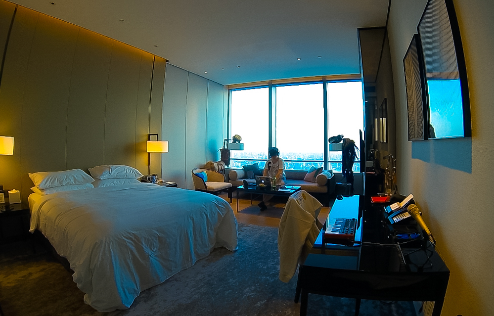 My suite at Niccolo Hotel