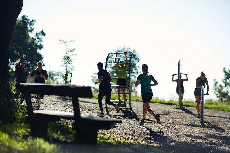 Aarhus park fitness