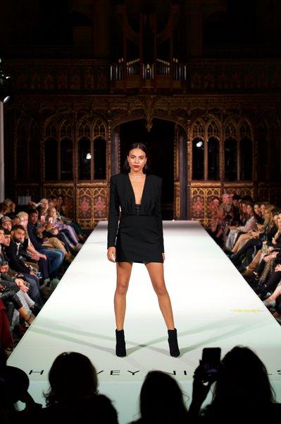 Saint Laurent dress £1725, Givenchy boots £995