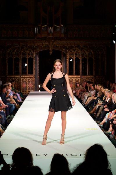 Versace dress £2040, Valentino shoes £705