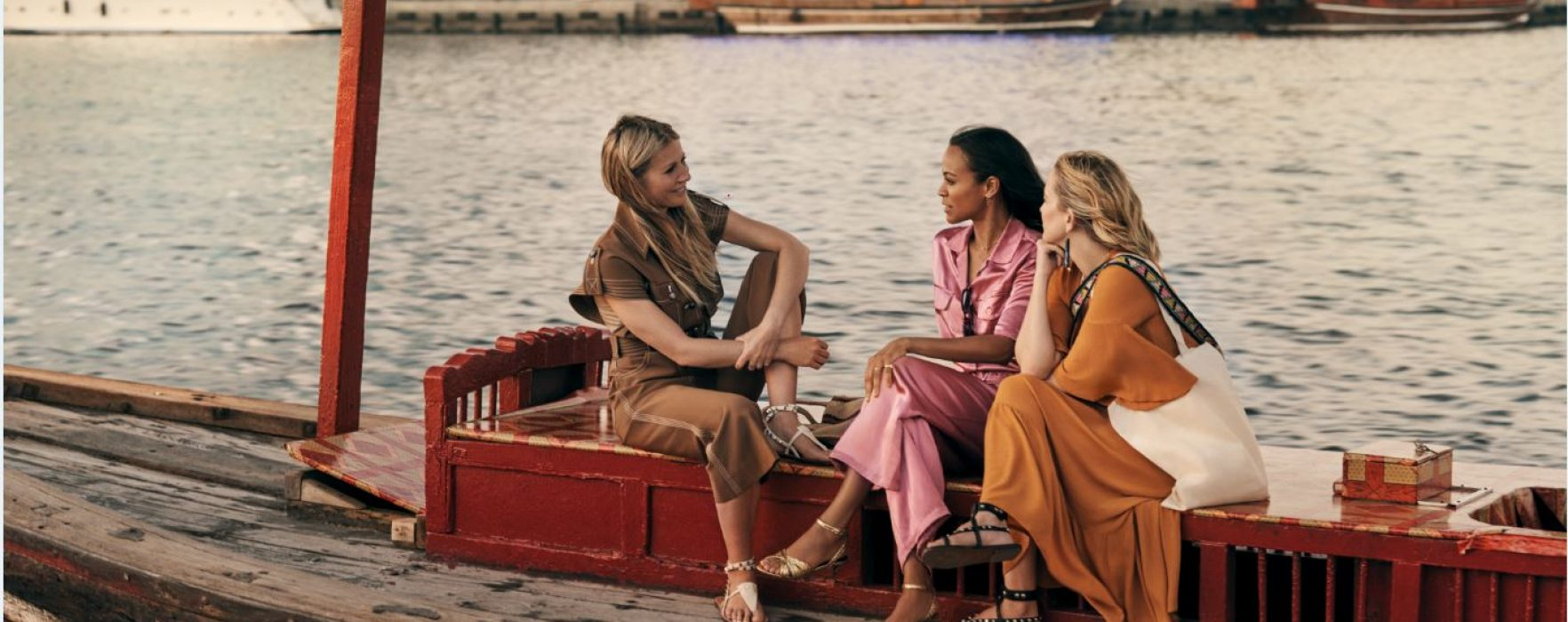 WATCH: Gwyneth Paltrow, Kate Hudson and Zoe Saldana star in unexpected film about self-discovery