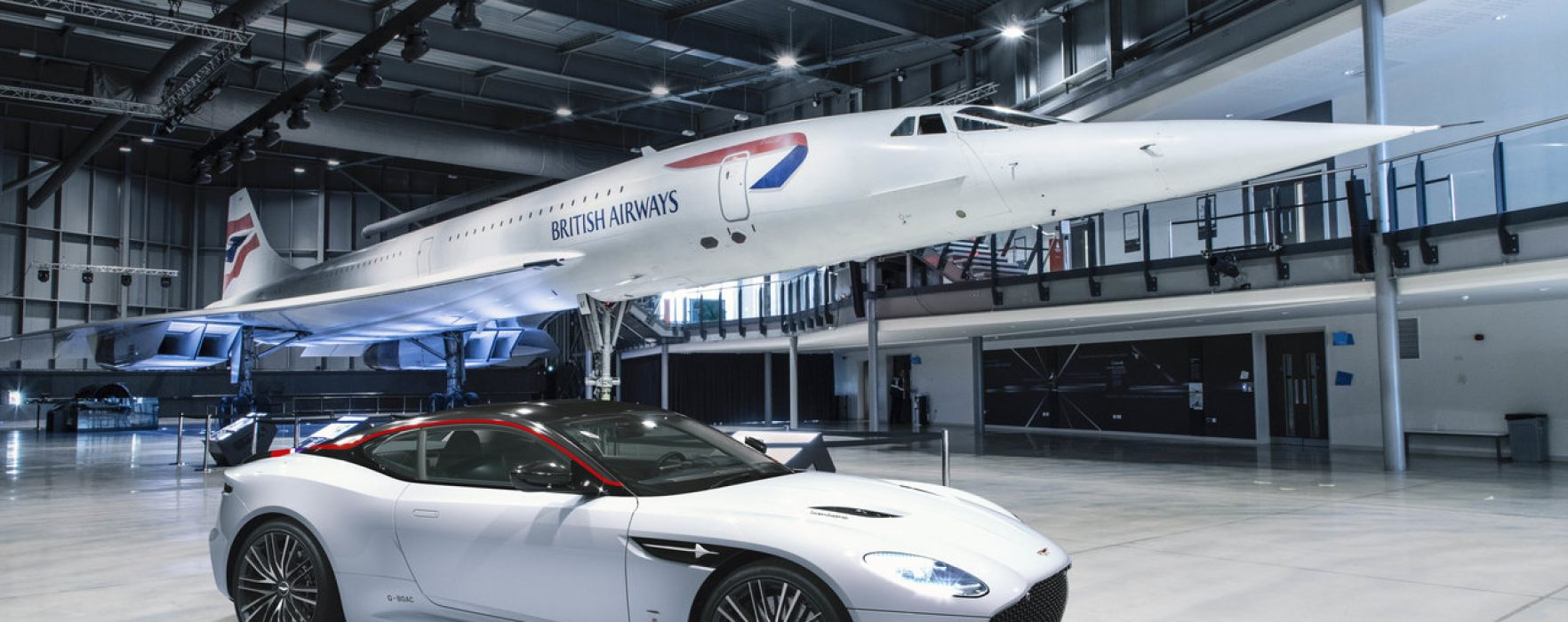 Supersonic sports car: BA & Aston Martin gear up for take-off