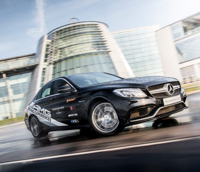 Ride in style in a Mercedes Benz AMG track car and test the speed limit on the UK's first purpose built motor racing circuit