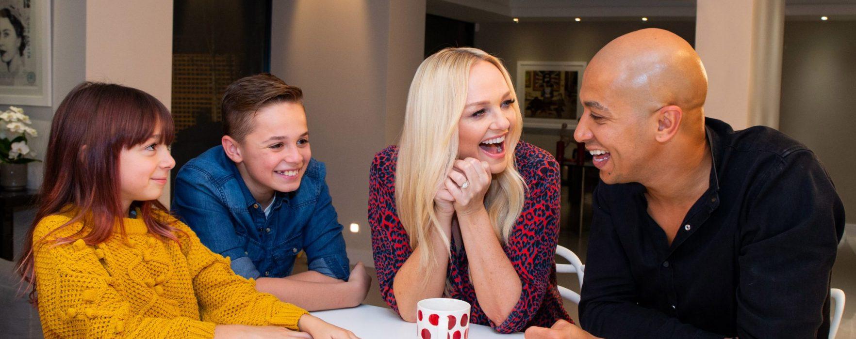 Emma Bunton shares her top tips to help families achieve a positive digital life balance