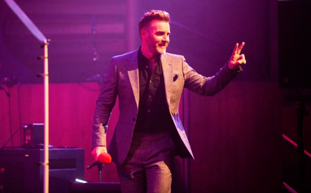 Gary Barlow - Band Ambassador at P&O Cruises