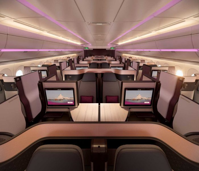 Qatar Airways introduces Qsuite on Manchester route