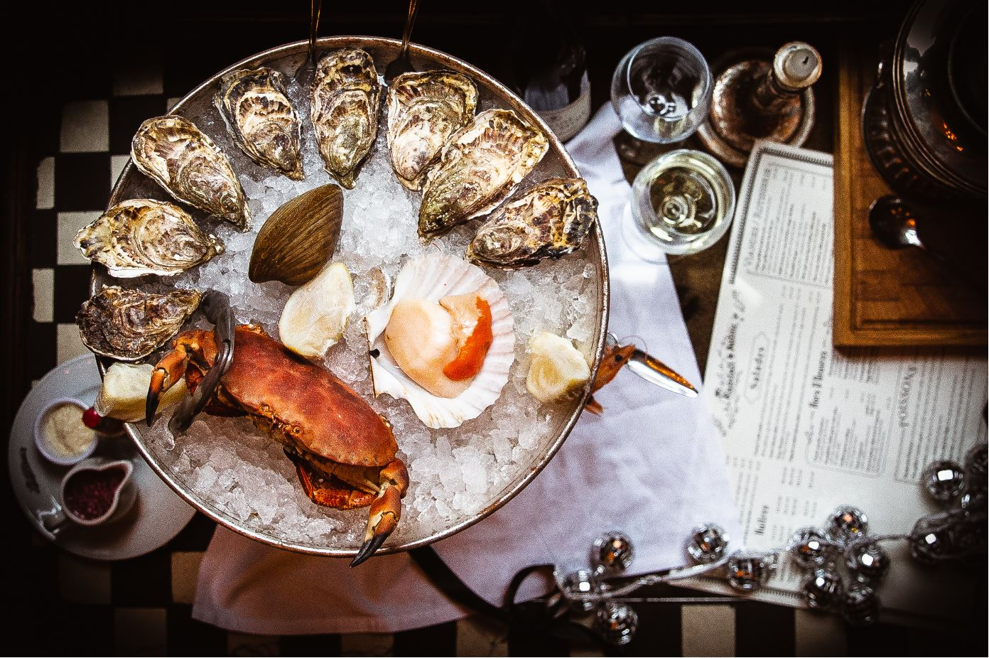Oysters & Seafood Platter