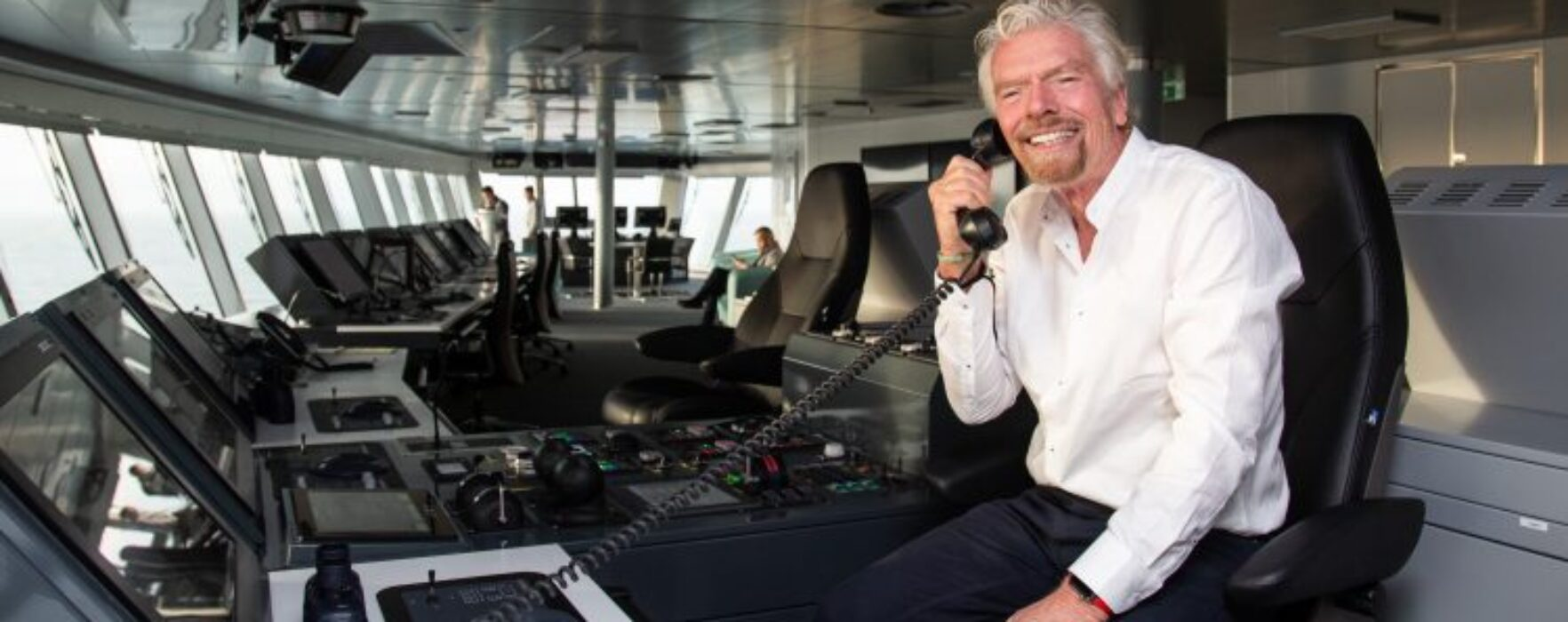 Take a look inside Virgin's first cruise ship 'Scarlet Lady'