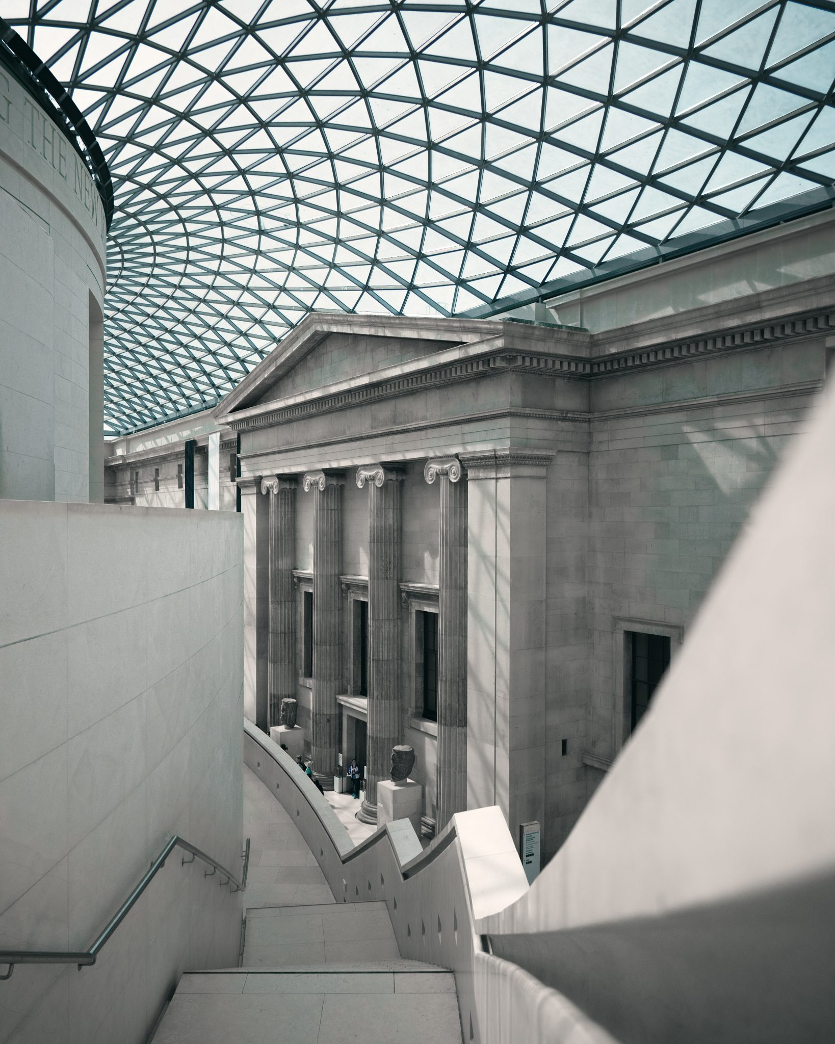 British Museum, London  London is a cultural hub just waiting to be explored, and what better way to dive into history than by using the resources on offer at the British Museum. Older than the United States itself, this museum contains one of the most important collections in the world, illustrating the evolution of Man from his beginnings to present day. Scroll through the ages as you explore art, history, religion, conflict and more. britishmuseum.withgoogle.com