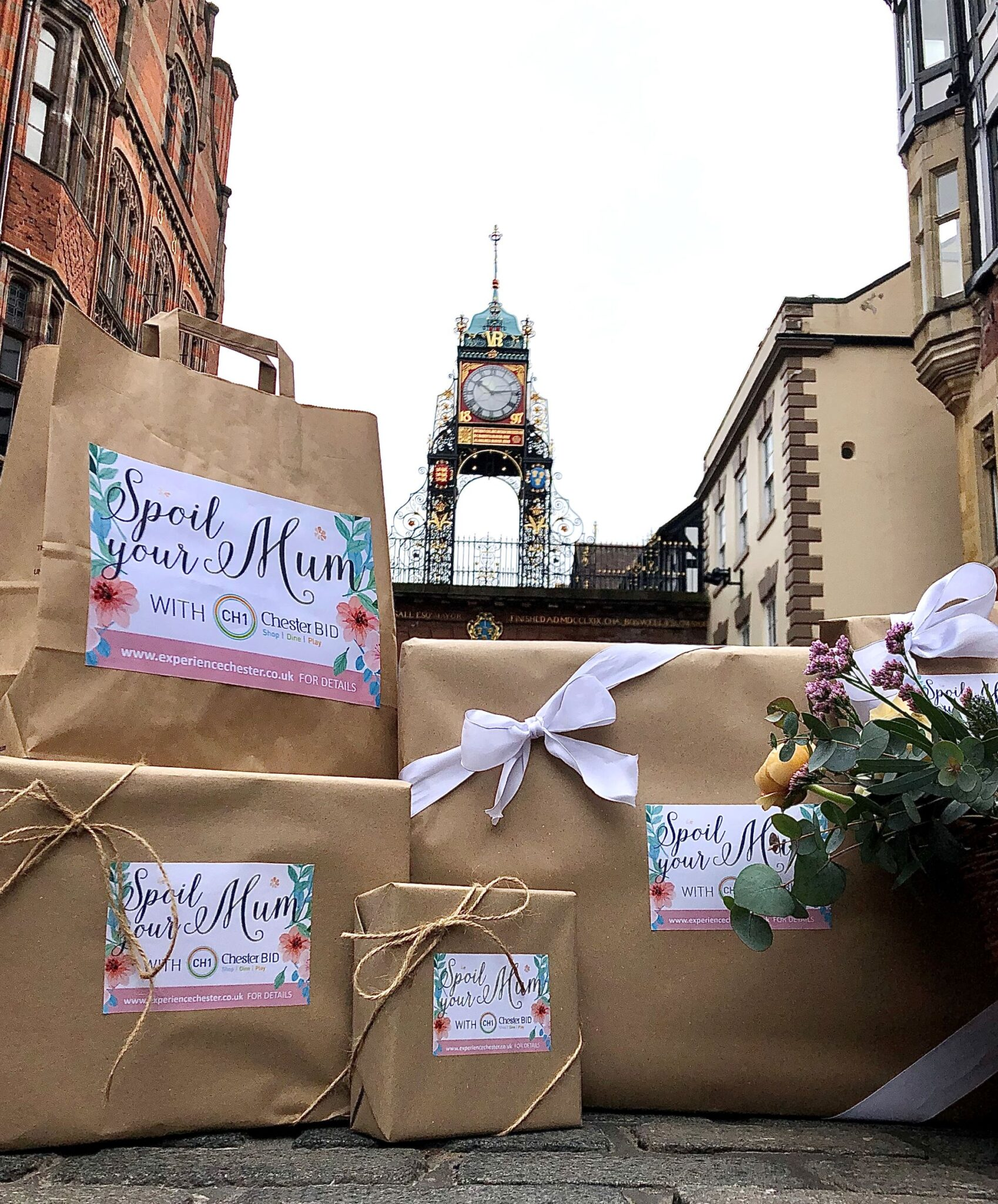 CHESHIRE: Streets of Chester to be filled with free gifts for Mum