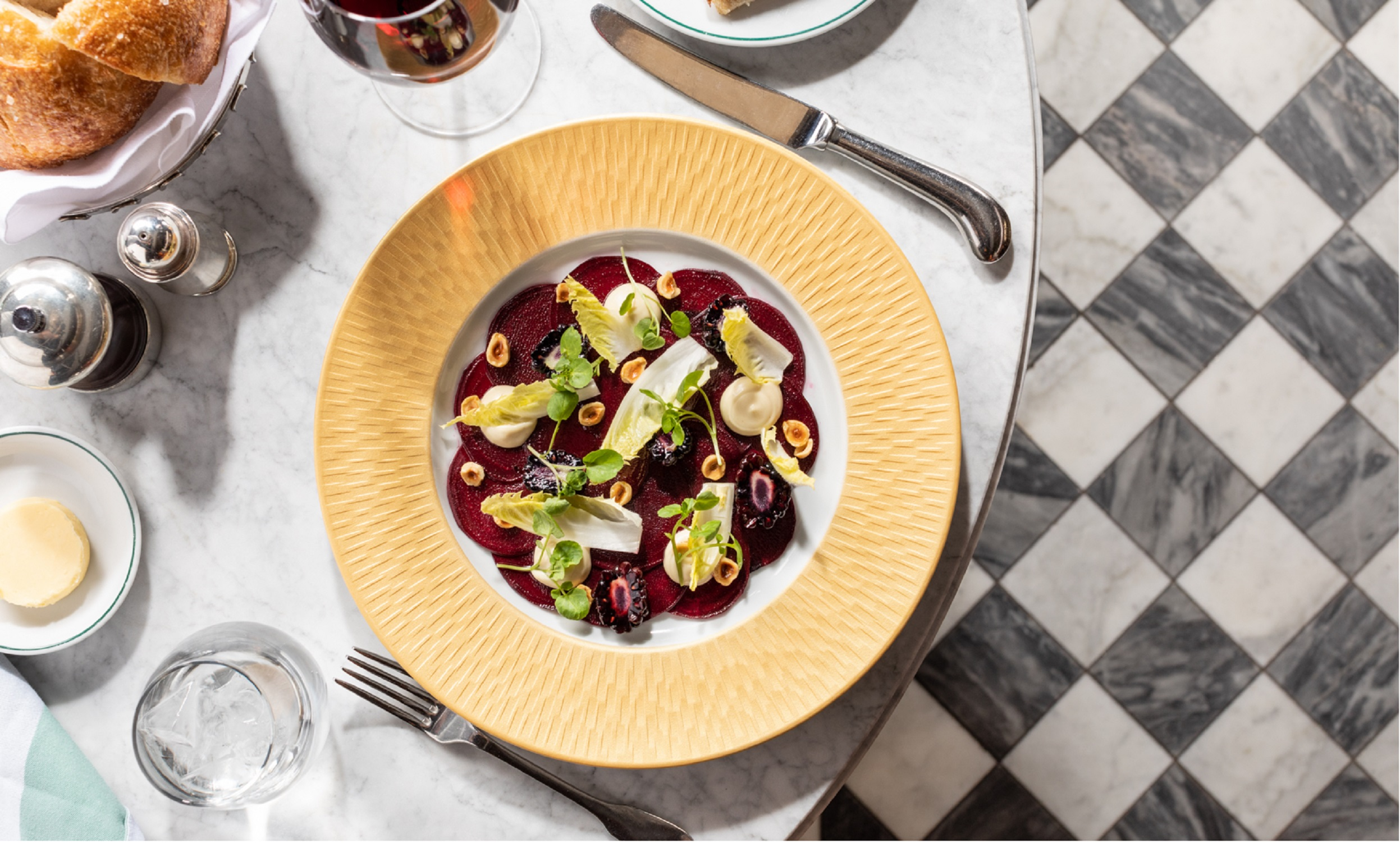 Fall in love with The Ivy again as the new Autumn menu drops