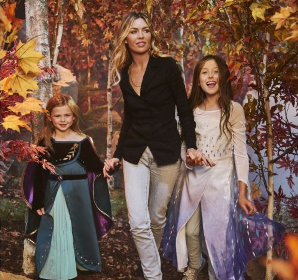 Abbey Clancy and Peter Crouch's kids follow in Mum's footsteps as they take to the runway