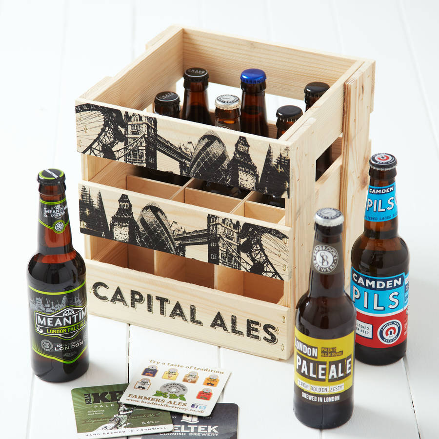 The ultimate last minute Christmas gift guide - Wooden Crate of London Craft beer
