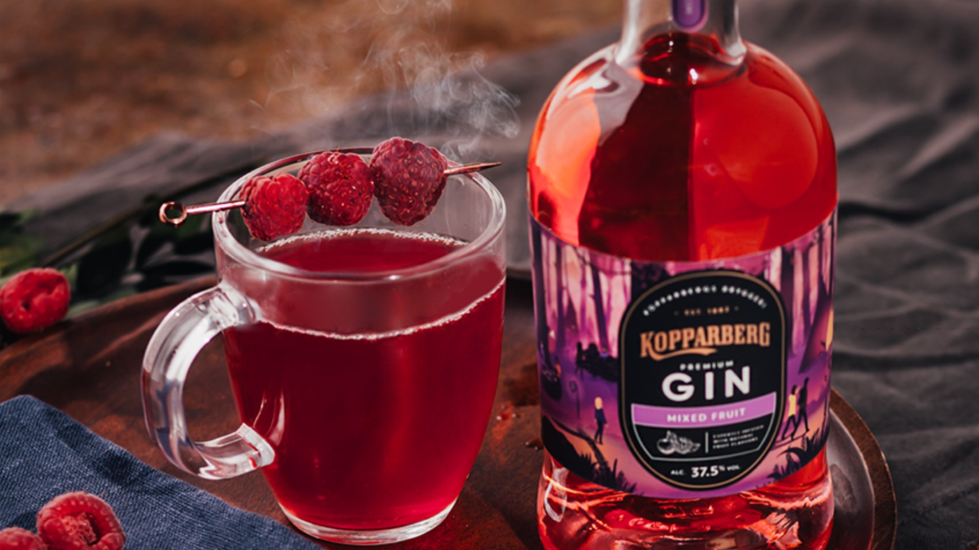 Autumnal cocktail inspo to leave you shaken and stirred! - Kopparberg Gin.