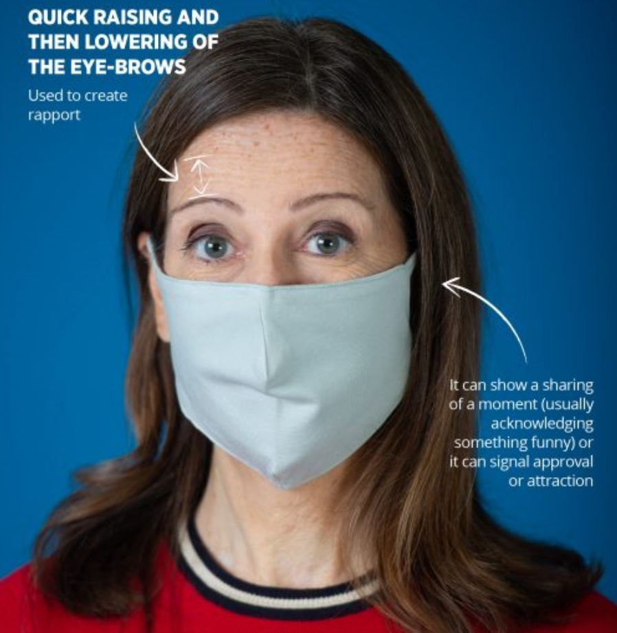Body language expert reveals how to read facial expressions hidden by masks - Eye Flash
