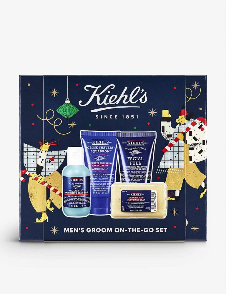 The ultimate last minute Christmas gift guide - Kiehls gift box