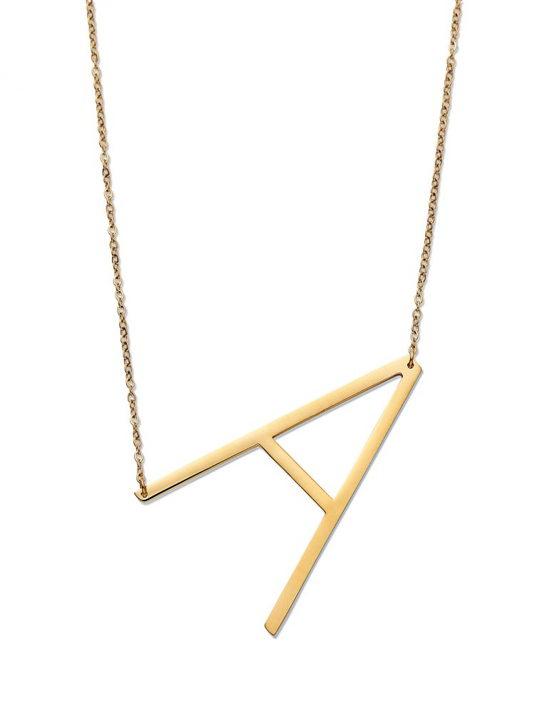 The ultimate last minute Christmas gift guide - Initial Pendant necklace