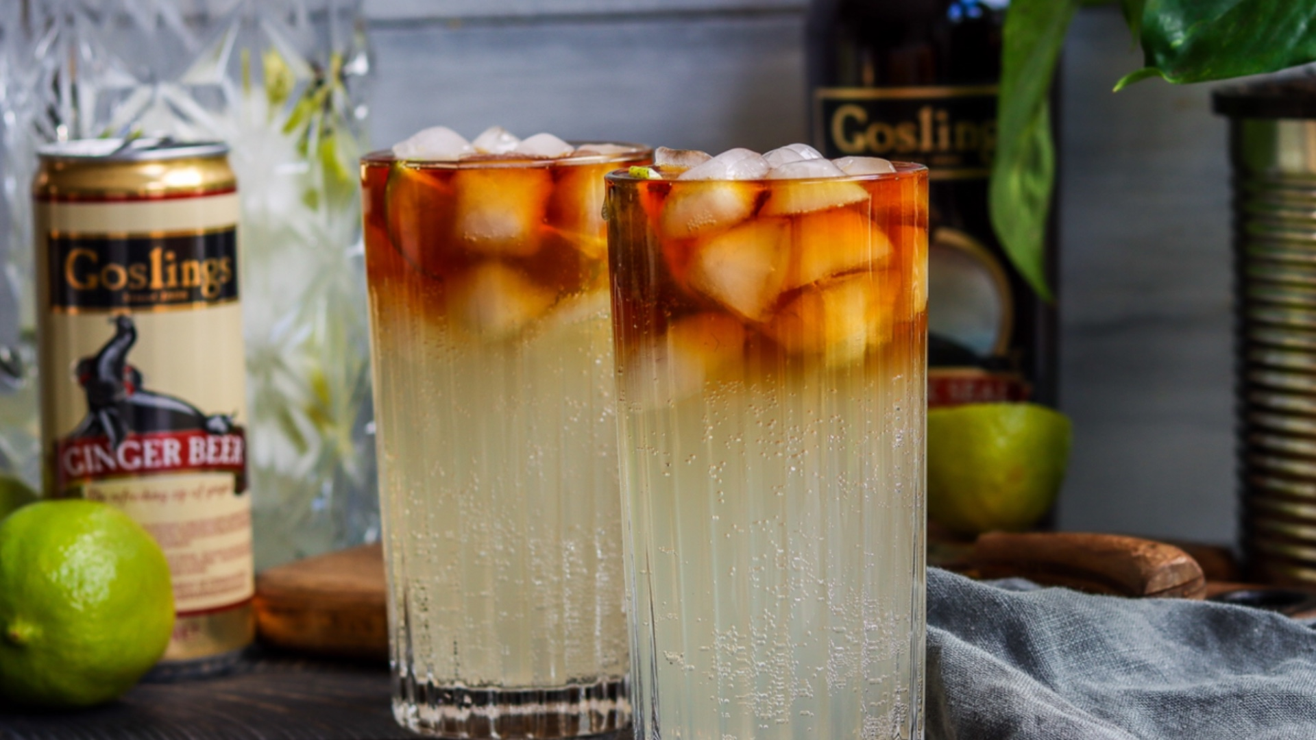 Autumnal cocktail inspo to leave you shaken and stirred! Gosling Rum.