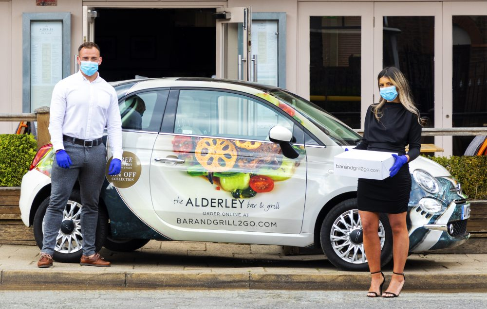CHESHIRE: The Alderley Bar & Grill delivers restaurant quality food straight to your door