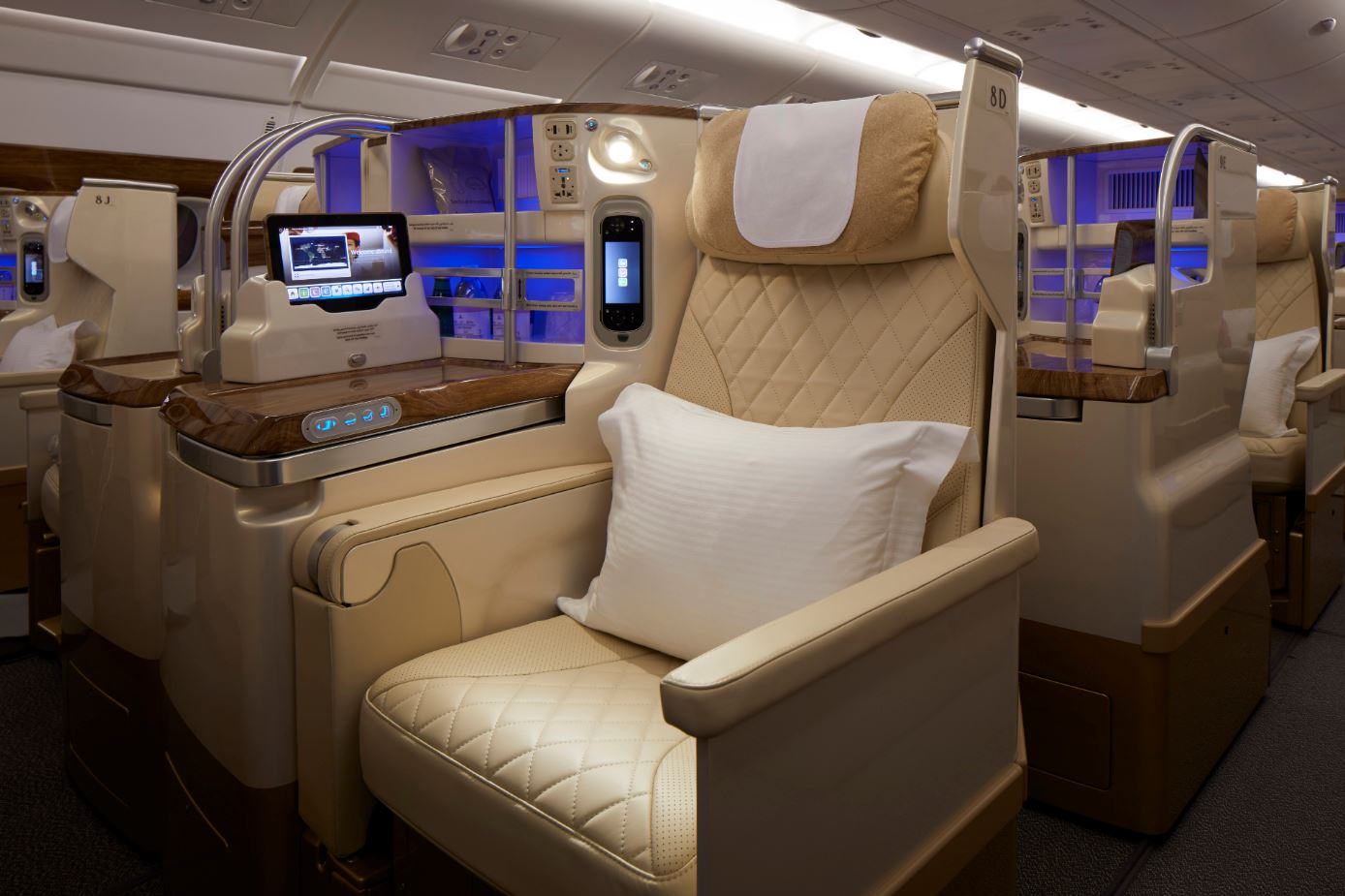 Emirates new business class. How Emirates is taking its A380 luxury to new heights