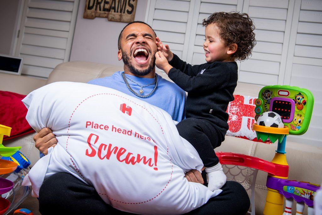 JLS' Aston Merrygold on pandemic parenting