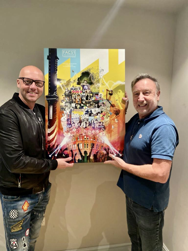 Hacienda releases exclusive new artwork signed by Peter Hook