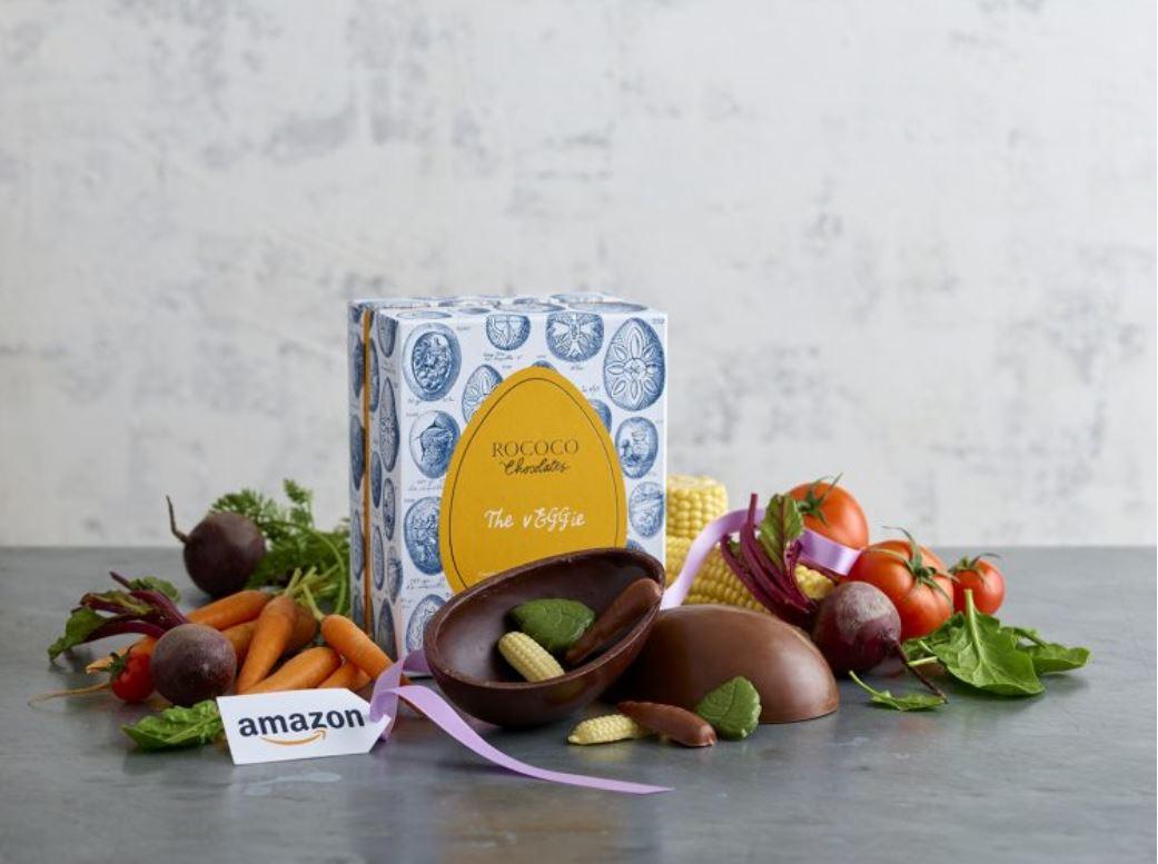 Chocolatier unveils luxury vegan Easter egg